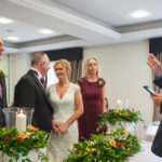 Debbie and Lee's Wedding with David as celebrant