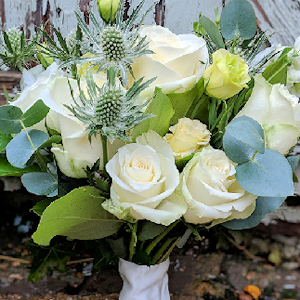 Bridal Bouquet as part of the Amore and Eternity Wedding Flower Packages.