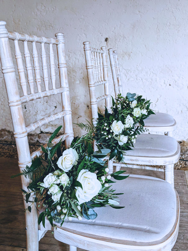 Natural Bridesmaid Bouquets.