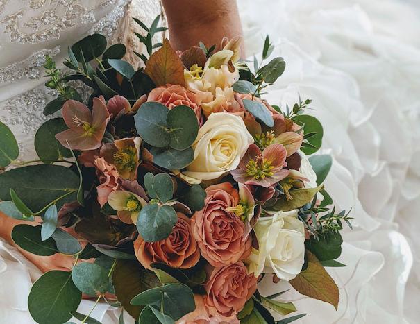 Bridal Rose Bouquet.