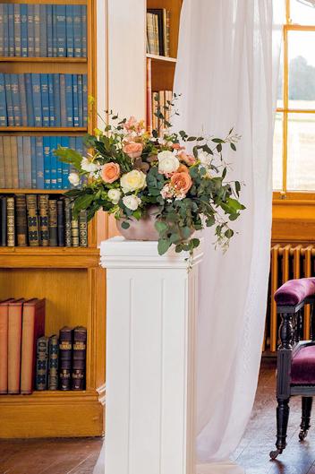 Foam free floral arrangement.