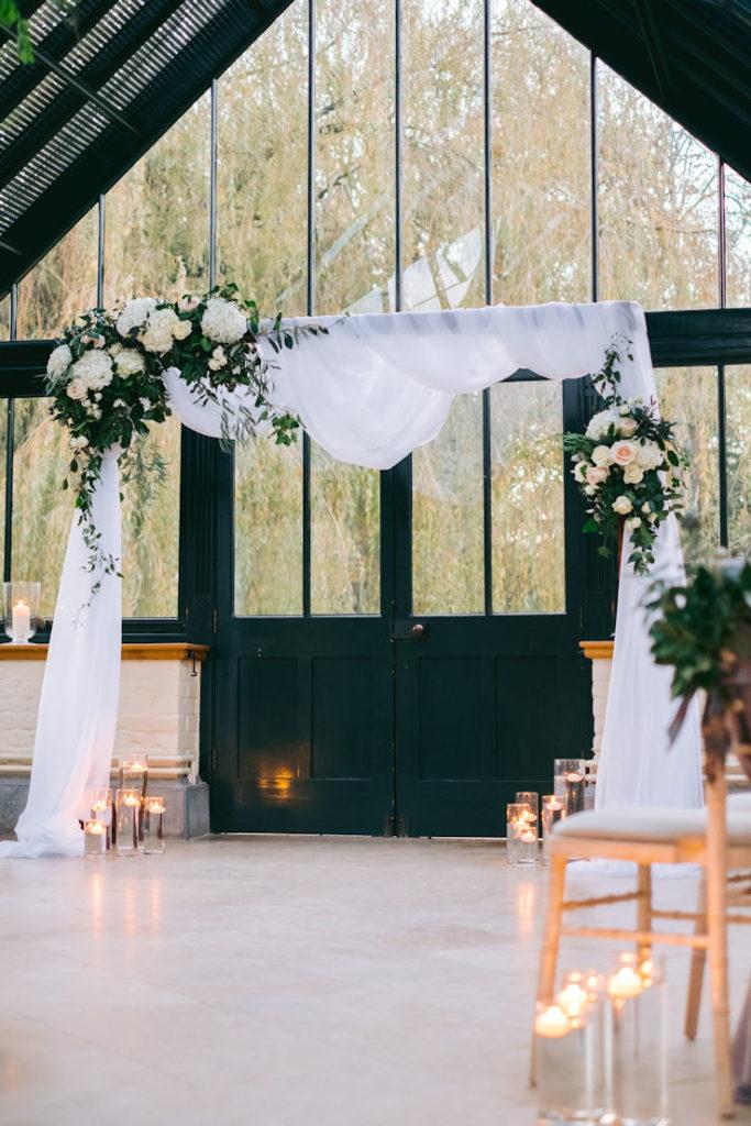 Wedding Flower Arch.
