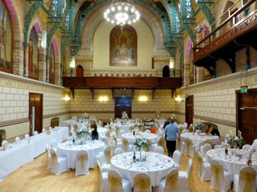 Guildhall Northampton styled for a Wedding
