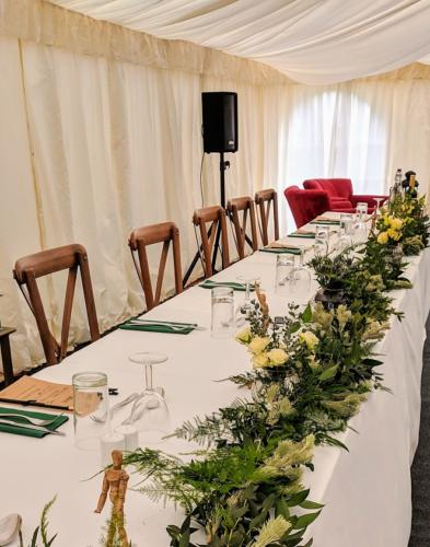 Foliage Top Table Runner