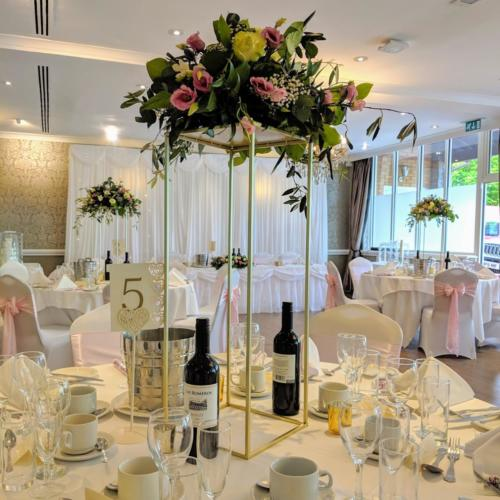 Floral Table Centrepiece on Stand
